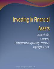 06_Lecture-No14_Investing-in-Financial-Assets