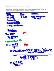 ME 335_2a In-Class Problem - Ideal Gas Equation of State_filled
