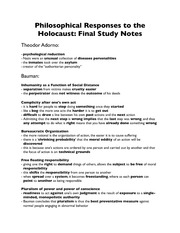 Final Study Notes