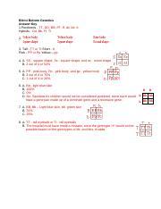 Genetics _Worksheet - Alien Genetics_ _Answers_ (1 ...