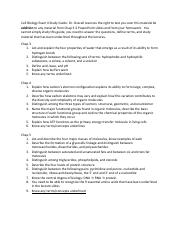 Cell Biology Exam II Study Guide SP17.pdf