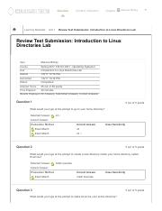 Review Test Submission_ Introduction to Linux Directories Lab ..pdf