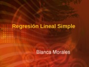 1 Regresion Simple