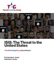 ISIS Threats - UQ Stuff