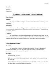 Conservation_of_Linear_Momentum_Lab_Report
