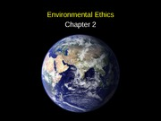 Chapter 2 Environmental Ethics