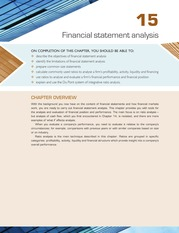 Chapter 15 Financial Statement Analysis  (pp.  651-718)