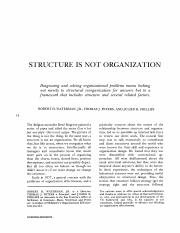 Structure_Is_Not_Organization