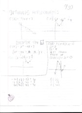 Graphing Polynomials Notes