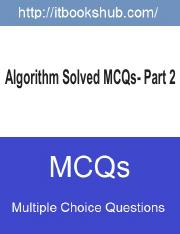 Algorithm Solved MCQs - Part 2.pdf