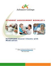 HLTHPS006 Assist clients with medication SAB v3.0 - THEORY.docx