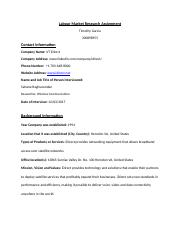 Labour Market Research Assignment - iDirect.docx