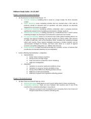 IBM 414 Study Guide 1st midterm.docx