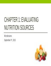 Wk3 Chp1 Evaluating Nutrition Sources F15 Sec17.pptx