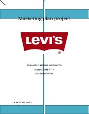 Marketing plan project Levi's new.docx