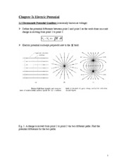 04. Chapter 3 Electric potential