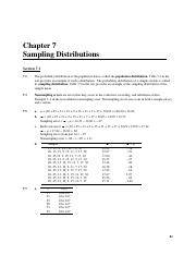 Solution for textbook questions Chapter 7