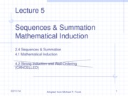 Lecture_5_Sequences_Summation_Mathematical_Induction