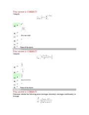 Calculus II Exam III S2007