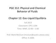 PGE312 CHAPTER 12 LECTURE