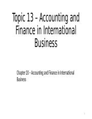 T13-Accounting and Finance-Overview