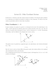 L5 Other Coordinate Systems