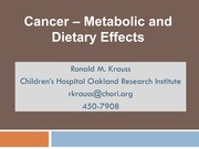 Lecture 4_Cancer_Metabolism_Diet_Krauss