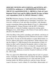 2) ESCOBAL - Afulugencia vs Metropolitan Bank & Trust Co.docx