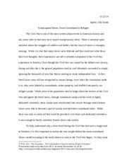 Research Paper- Harriet Jacobs