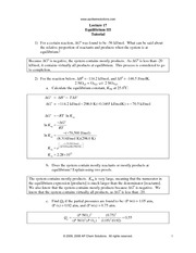 Worksheets Work Sheet Answer Of Thermodynamic Chemistry thermodynamics ii worksheet answers intrepidpath thermo tutorial apchemsolutions lecture 14