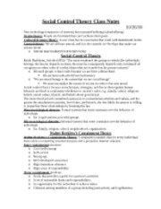 Class Notes_Social Control Theory_2010