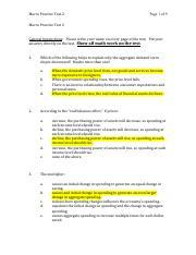 Unemployment Worksheet.pdf - Unemployment Worksheet 1 Joe ...