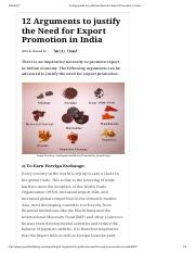 12 Arguments to justify the Need for Export Promotion in India.pdf