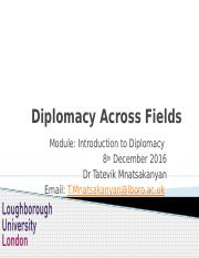 Lecture 9_ Diplomacy Across Fields