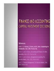 09_Capital Investment Decisions