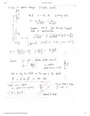 Electric Dipole Notes