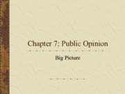 Chapter 7 Big Picture