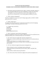 BADM 2110 - Chapter 1 Study Guide.docx