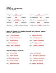 naming covalent compounds worksheet - Termolak