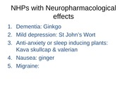 Lecture 5 - BPS2110 (Neuropharmacology) - September 18, 2014