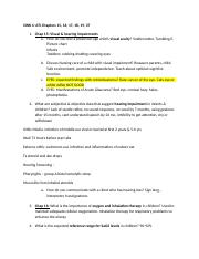 SINK 6 - SINK 6 ATI 40 41 1 Identify hematologic disorders that ...