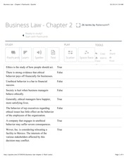 BUA Chapter 2 flashcards | Quizlet