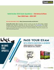 Docker dca Exam Questions And Get 20% Discount [Christmas]