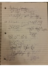Rational Exponents  and P4 Polynomials