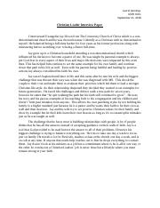 Christian Leader Interview Paper.docx