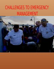 CHALLENGES TO EMERGENCY.pptx
