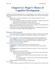 Chapter 6.1 Textbook Notes