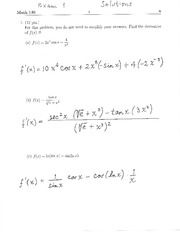 135Exam1Solutions