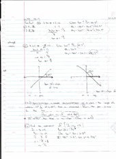 Inclination and Slope Inclination of a Line Notes