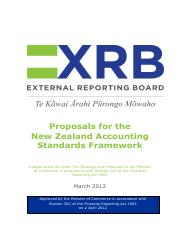 Approved Accounting Standards Framework (incl Tier Strategy)